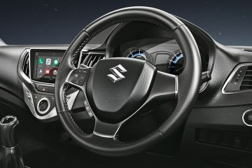 Maruti Baleno RS Steering Wheel