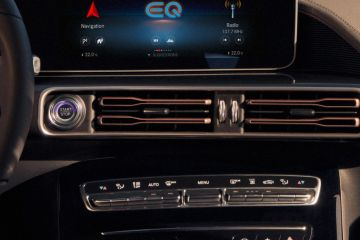 Mercedes-Benz EQC Front Air Vents