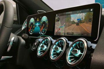 Mercedes-Benz GLA Front Air Vents
