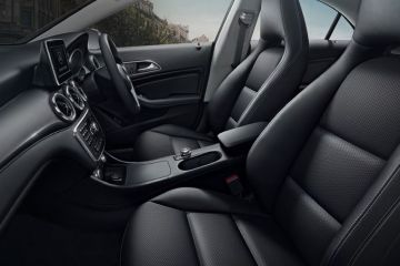 Mercedes-Benz CLA Front Seats (Passenger View)