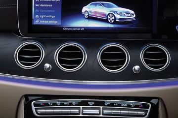 Mercedes-Benz E-Class Front Air Vents
