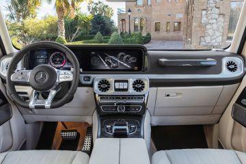 Mercedes-Benz G-Class DashBoard