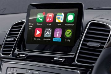 Mercedes-Benz GLS Navigation or Infotainment Mid Closeup