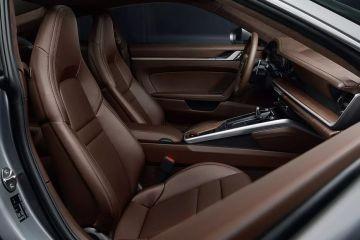 Porsche 911 Front Seats (Passenger View)