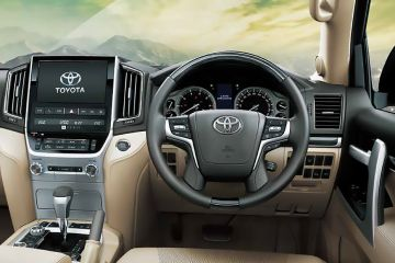 Toyota Land Cruiser Steering Wheel