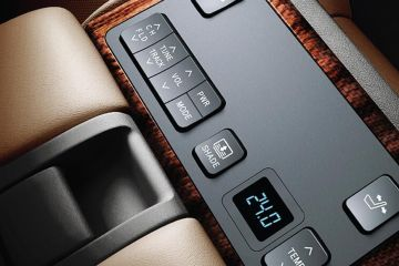 Toyota Camry Navigation or Infotainment Mid Closeup