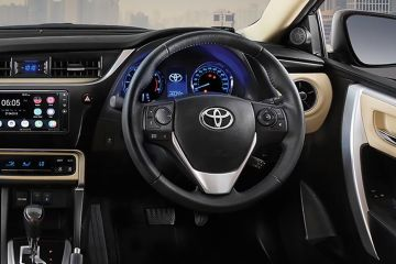 Toyota Corolla Altis Steering Wheel