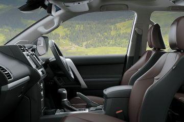 Toyota Land Cruiser Prado Front Seats (Passenger View)