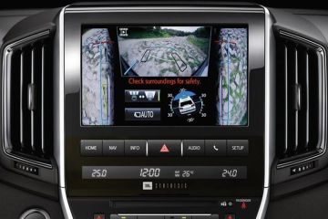 Toyota Land Cruiser Navigation or Infotainment Mid Closeup