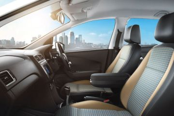 Volkswagen Polo Front Seats (Passenger View)