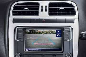 Volkswagen Vento Navigation or Infotainment Mid Closeup