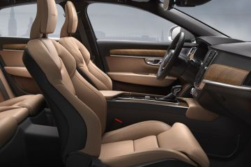 Volvo S90 Front Seats (Passenger View)