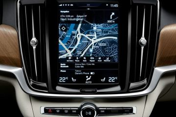 Volvo S90 Navigation or Infotainment Mid Closeup