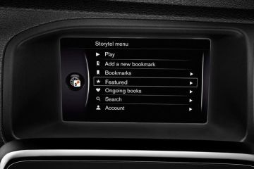 Volvo V40 Navigation or Infotainment Mid Closeup