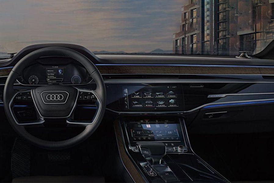 Audi A8 2019 DashBoard Image