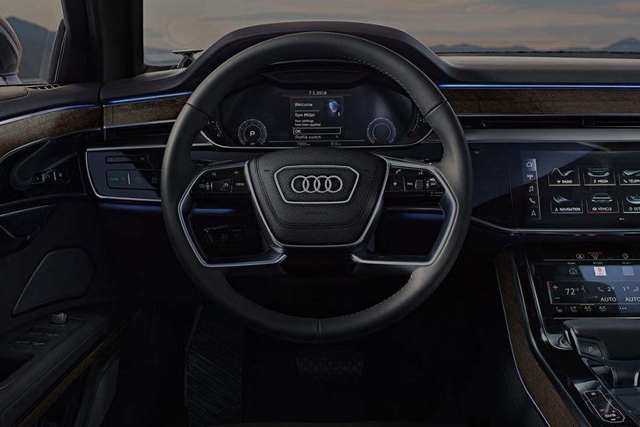 Audi A8 2019 Steering Wheel Image
