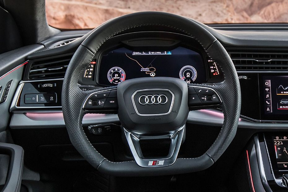 Audi Q8 Steering Wheel Image