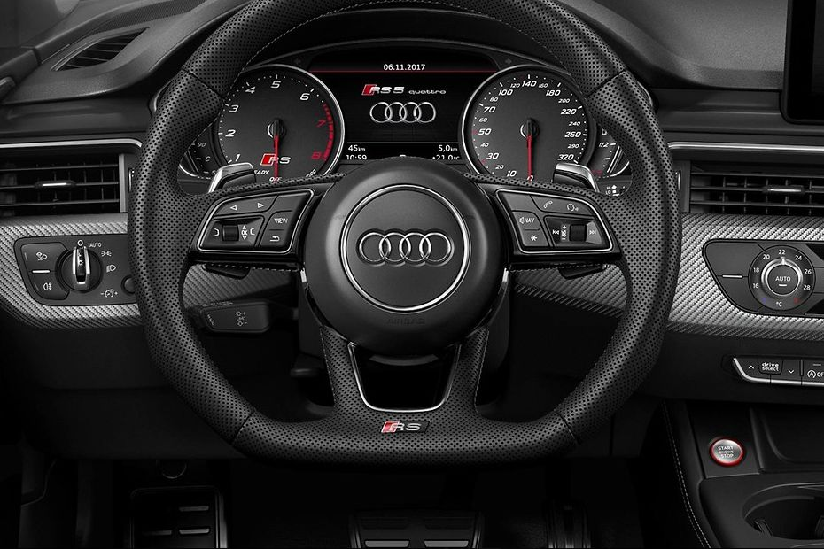 Audi RS5 Steering Wheel Image