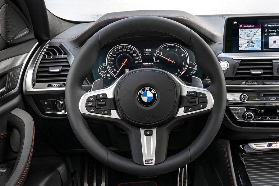 BMW X4 Steering Wheel Image