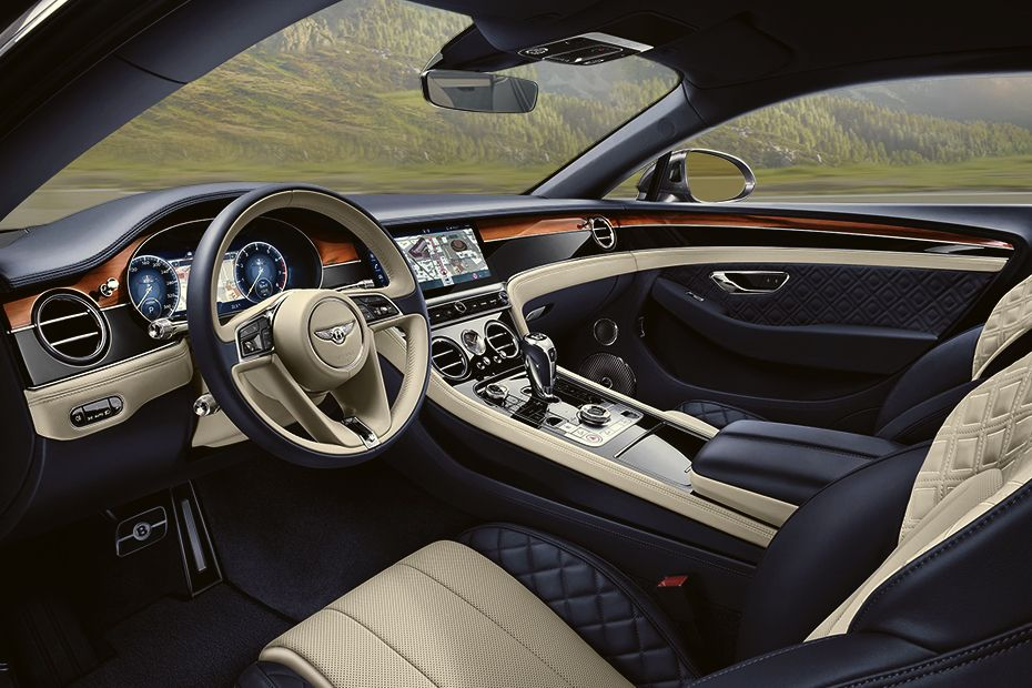 Bentley Continental DashBoard Image