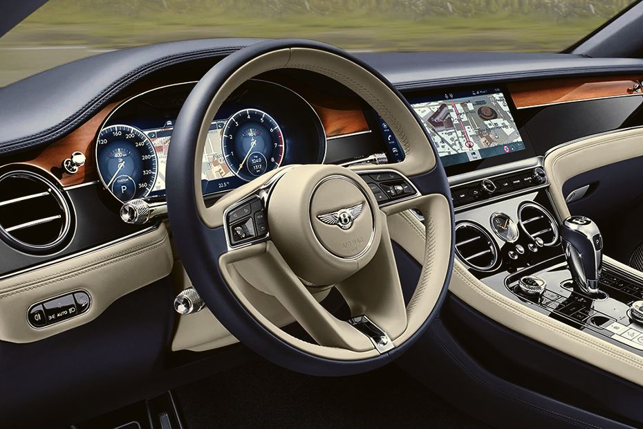 Bentley Continental Steering Wheel Image