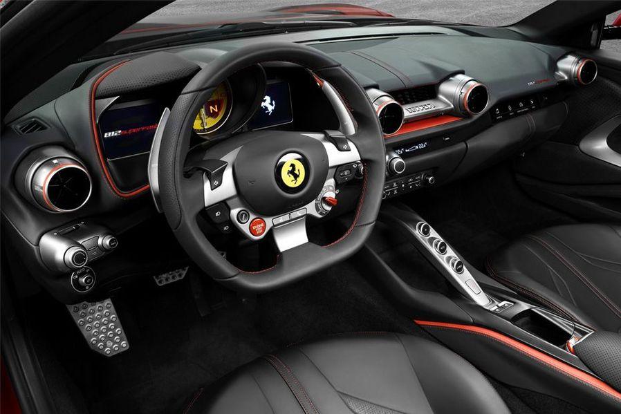 Ferrari 812 SuperFast DashBoard Image