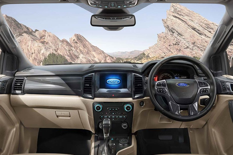 Ford Endeavour DashBoard Image