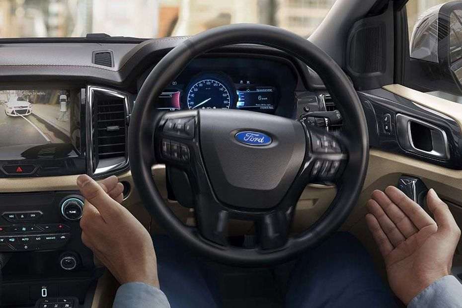 Ford Endeavour Steering Wheel Image