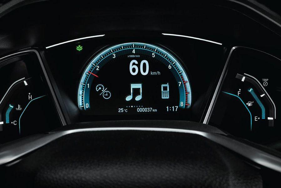 Honda Civic Instrument Cluster Image