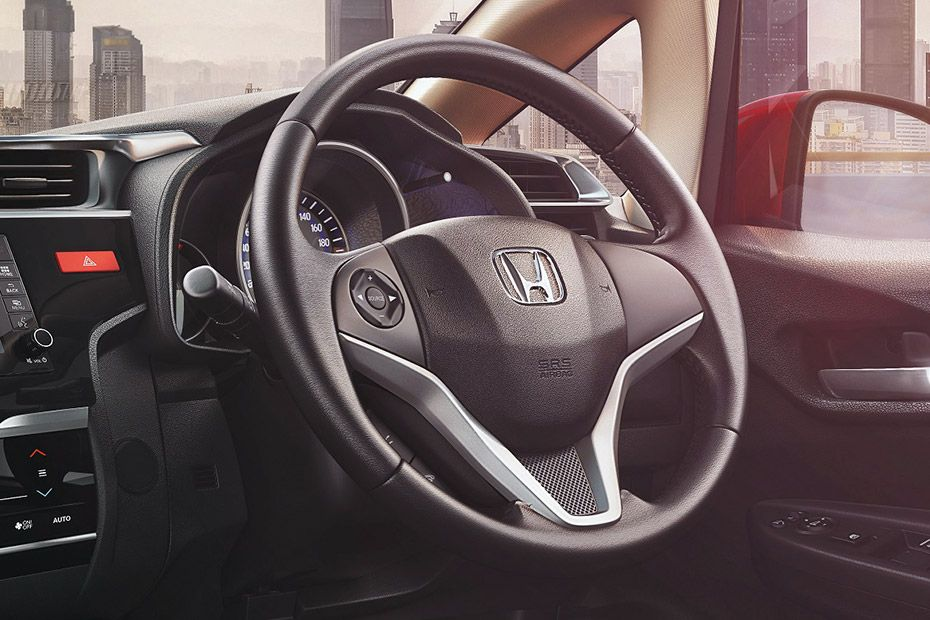 Honda Jazz Multifunctional Steering With Silver Inserts