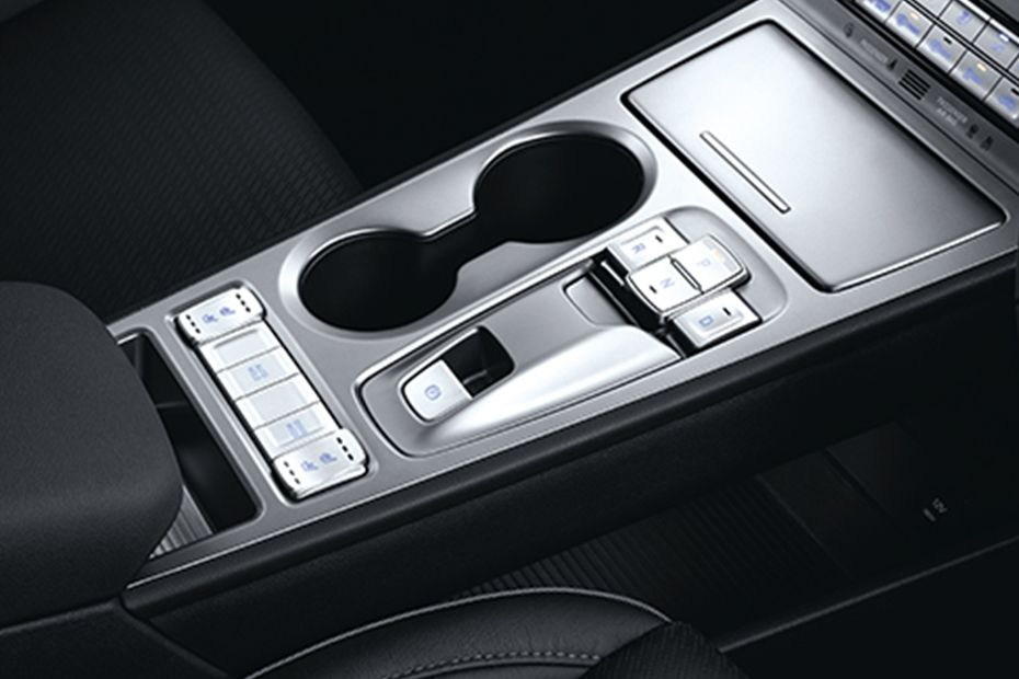 Hyundai Kona Electric Cup Holders (Front) Image