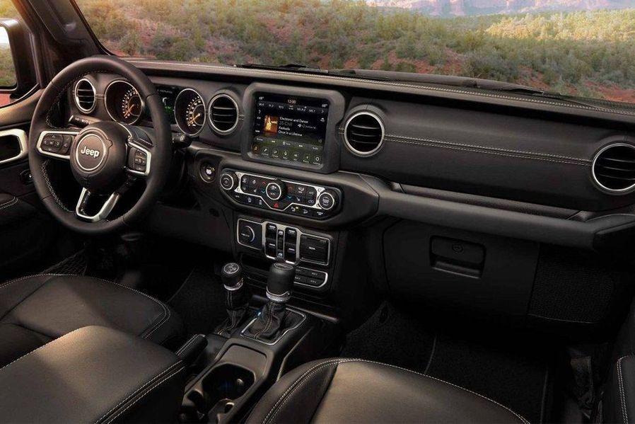 Jeep Wrangler 2018 DashBoard Image
