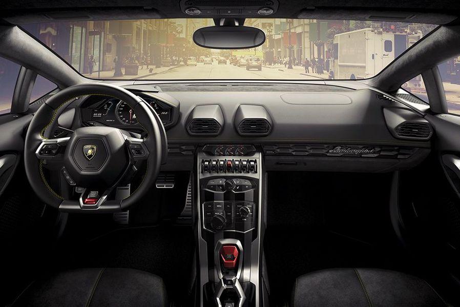 Lamborghini Huracan DashBoard Image
