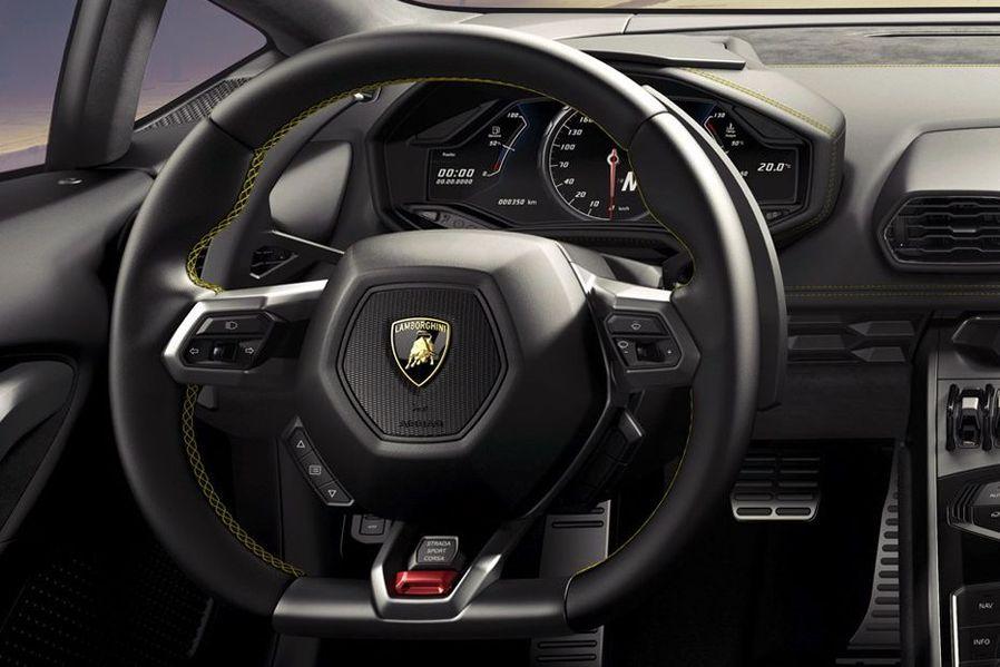 Lamborghini Huracan Steering Wheel Image