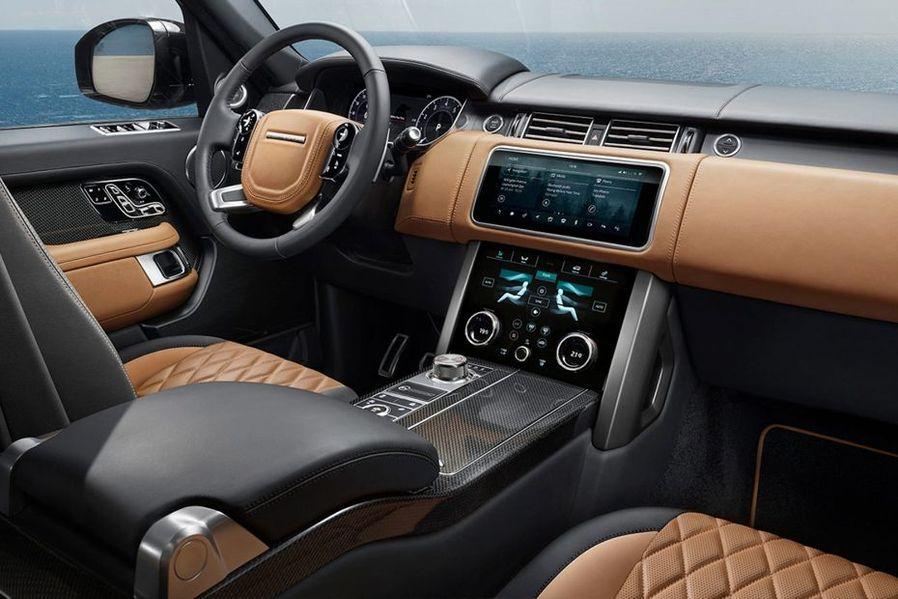 Land Rover Range Rover DashBoard Image