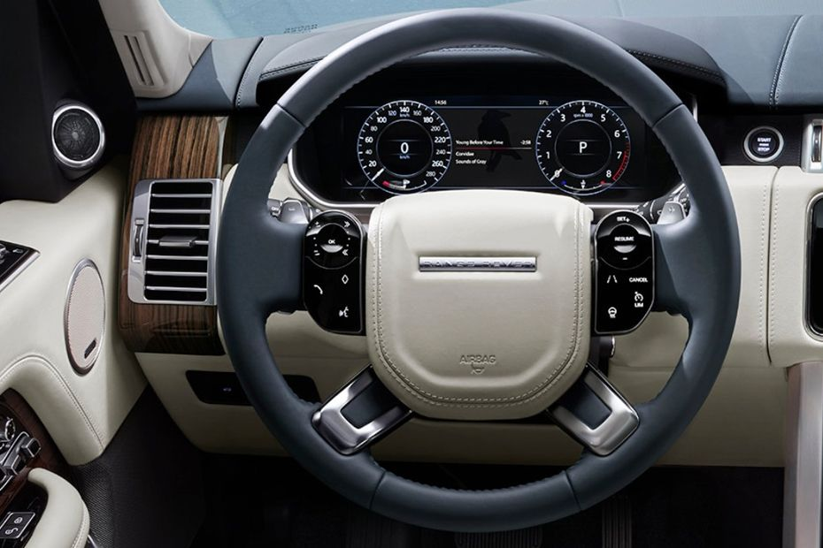 Land Rover Range Rover Steering Wheel Image