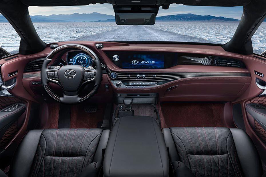 Lexus LS DashBoard Image