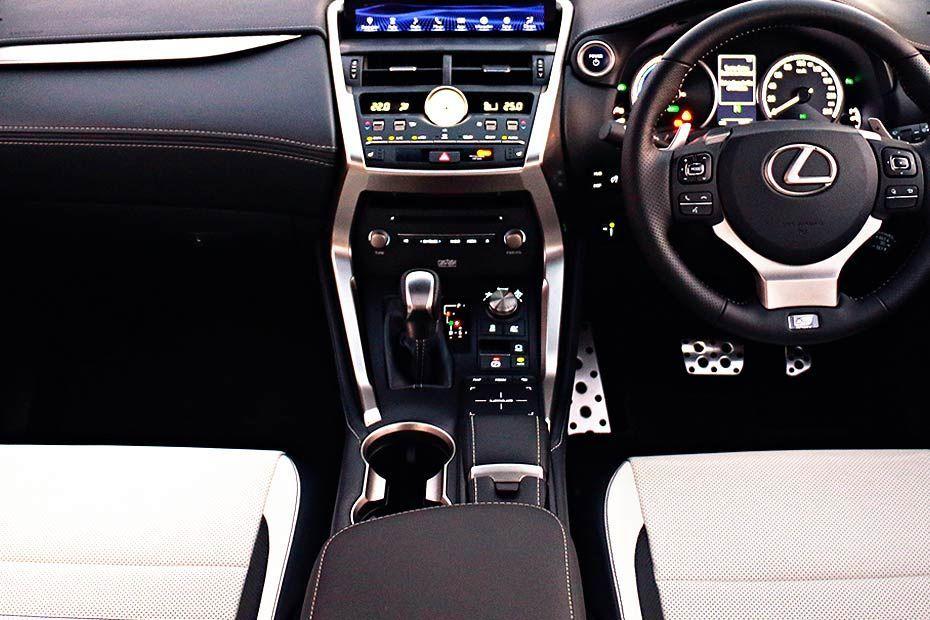 Lexus NX DashBoard Image