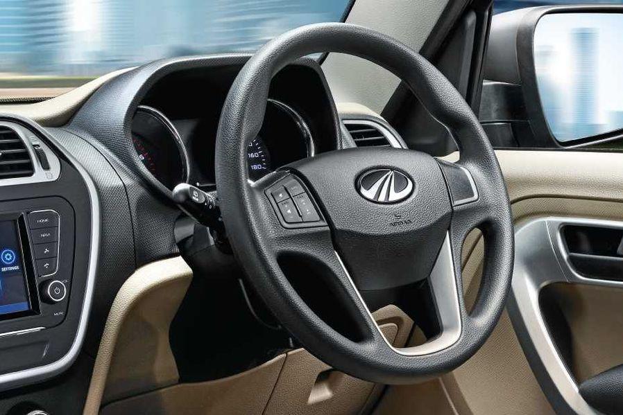 Mahindra TUV 300 Plus Steering Wheel Image