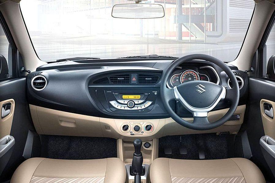 Maruti Alto K10 Uniquely Styled Dashboard
