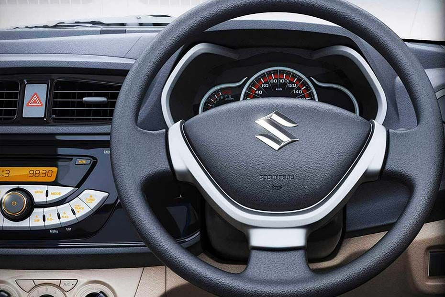 Maruti Alto K10 Crude Plastic Steering Wheel