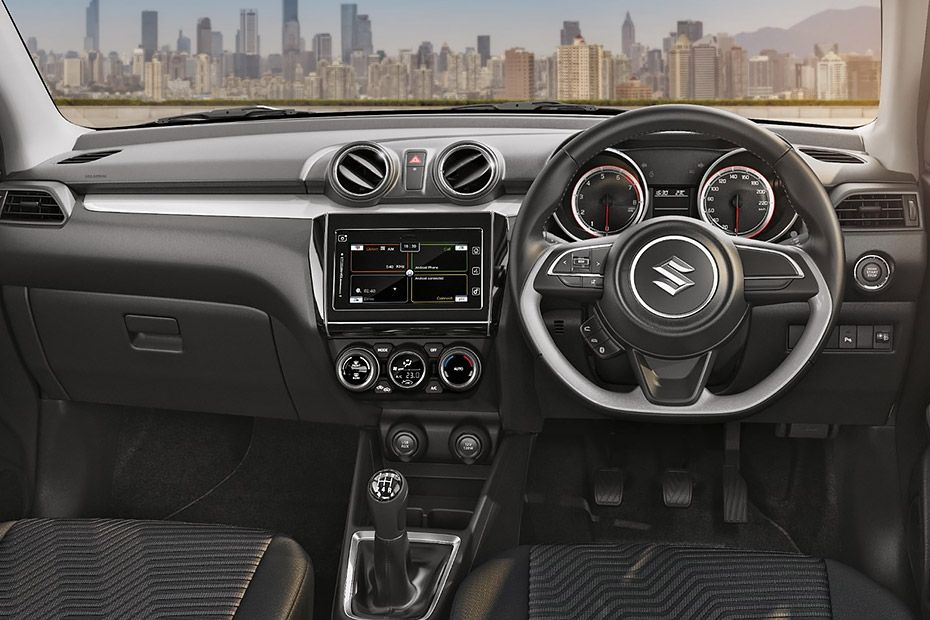 Maruti Swift Grey Dashboard