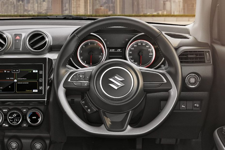 Maruti Swift Flat-Bottom Steering Wheel