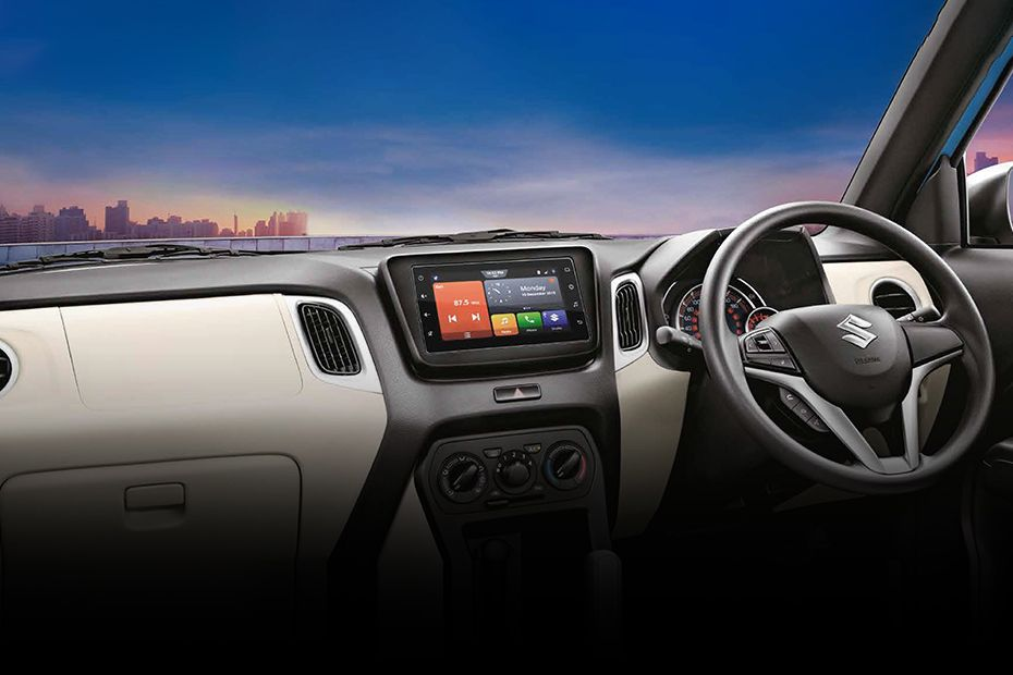 New Maruti Wagon R Dashboard
