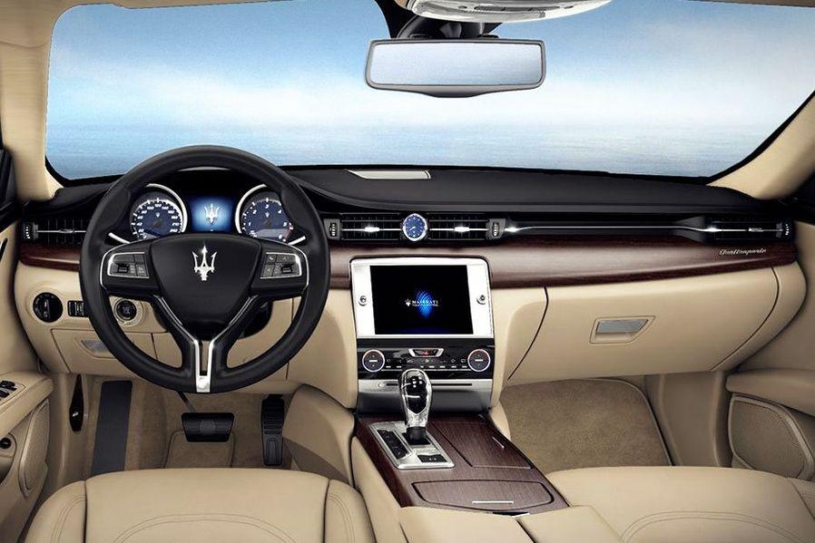 Maserati Quattroporte DashBoard Image