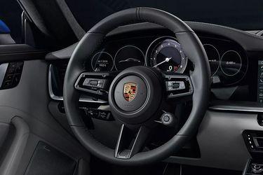 Porsche 911 Steering Wheel Image