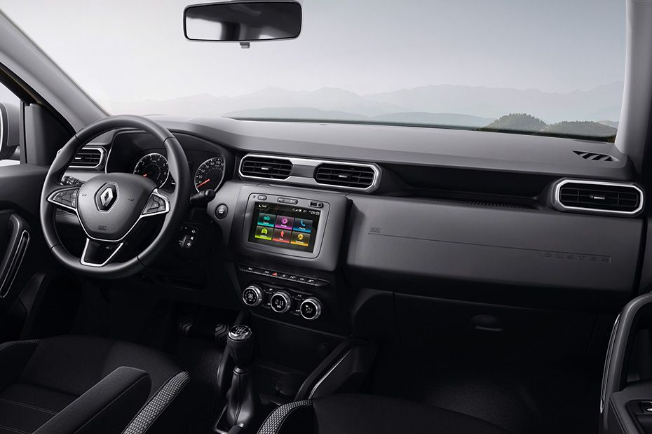 Renault Duster 2018 DashBoard Image