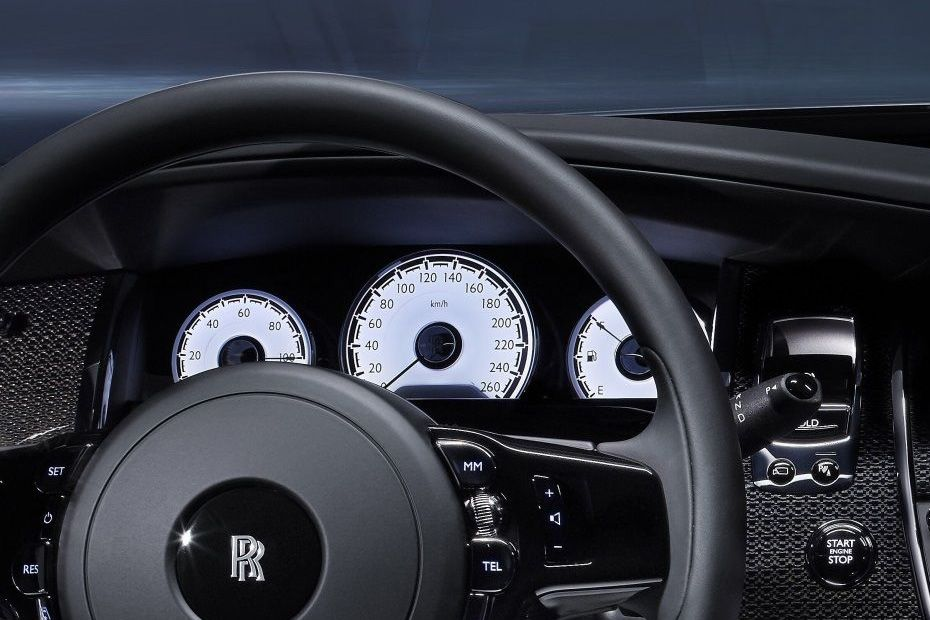 Rolls-Royce Wraith Instrument Cluster Image