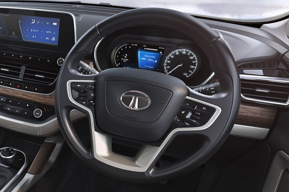 Tata Harrier Steering Wheel Image
