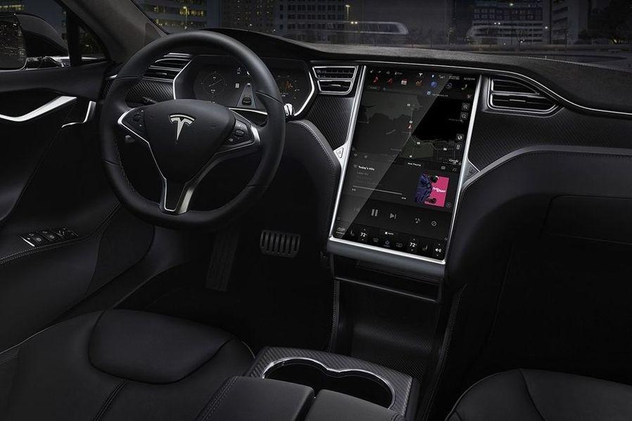 Tesla Model S DashBoard Image